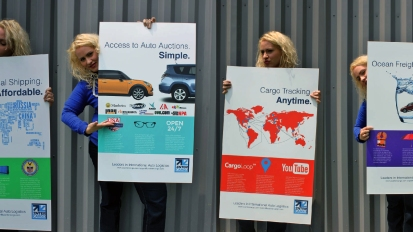 Poster Series for USA InterCargo: Design