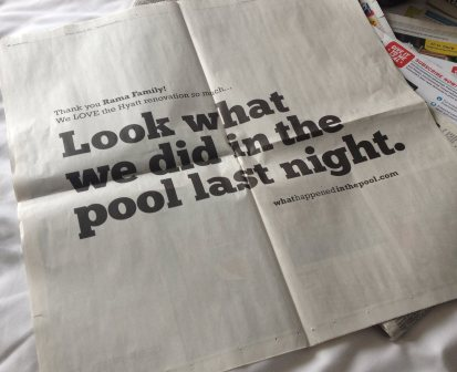 What happened in the pool?:Multi-Channel